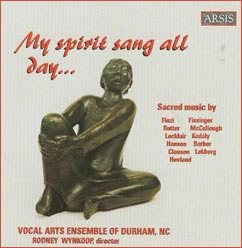 My Spirit Sang All Day Cover